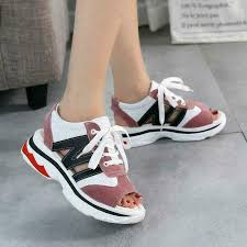 Balenciaga Sneakers Women S Size Chart Womens Platform Sport Sandals Gladiator Open Toe Lace Up