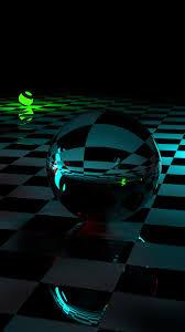 3d Crystal Balls Hd Photo Mobile Wallpaper Hd Phone