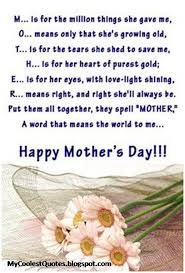 Mothers Day Inspirational Quotes Unique My Coolest Quotes May 48 Mothers Day Inspirational Quotes