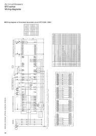 control wiring diagram of acb control auto wiring diagram schematic air circuit breakers bt3 series fuji electric on control wiring diagram of acb
