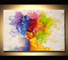 modern flower art paintings abstract art modern art and landscape paintings