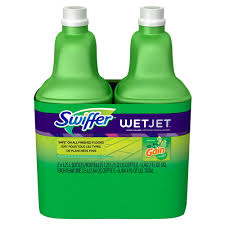 wetjet 42 oz multi purpose floor cleaner refill with gain scent 2 pack