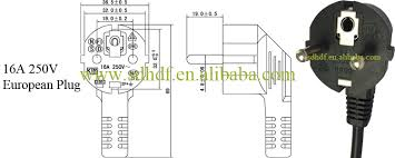 hot 16a 250v power cord use female schuko plug buy schuko hot 16a 250v power cord use female schuko plug