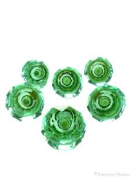 green glass cabinet knobs cau set of 6 vintage drawer pull green glass knobs