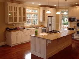 Wood Trim Kitchen Cabinets Off White Kitchen Cabinets With White Trim Home Design Ideas