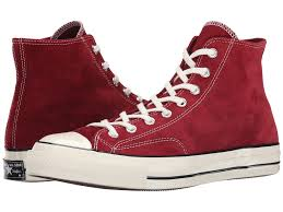 mens shoes converse chuck taylor all star 70 hi suede red dahlia black egret converse trainers red converse high tops leather usa official