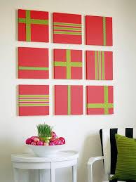 present ideas diy room decor quick easy wall decor ribbon green ribb on dog