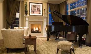 15 Grand Piano Set ups in Traditional Living Rooms