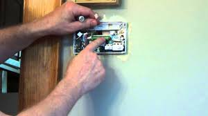 how to install a thermostat white rodgers thermostat youtube white rodgers lr27935 at White Rodgers 1f56n 444 Wiring Diagram