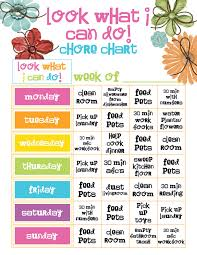 behavior charts for 7 year old chore chart template pro thai tk
