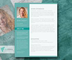 Resume Template 2017 Gorgeous 40 Free Printable CV Templates In 40 To Get A Perfect Job
