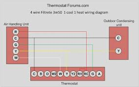 heat cool thermostat wiring diagram images heat pump thermostat stage heat 1 cool thermostat wiring diagram 2 diagram