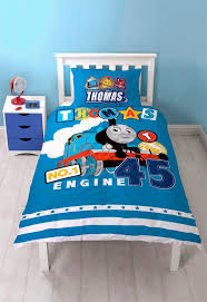 thomas the tank engine patch panel single bed duvet quilt cover set