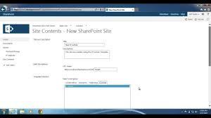 Sharepoint 2013 Site Templates Sharepoint 2013 How To Create A Site With A Site Template