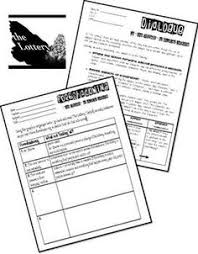 the lottery basic grade three storyboards illustrate the plot shirley jackson s the lottery jigsaw critical thinking activity ccss aligned middle school literatureliterary analysis