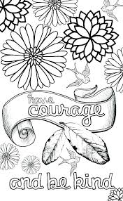 Kindness Coloring Pages Printable Gegehclub