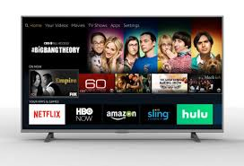 55in or 65in Amazon Fire TV Edition - 4K UHD Front View Element Electronics 65\