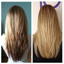 V Hairstyle bad layers vs good layers love straight cut across the bottom 8835 by wearticles.com