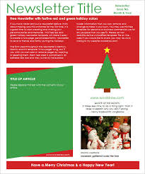 Holiday Newsletter Template