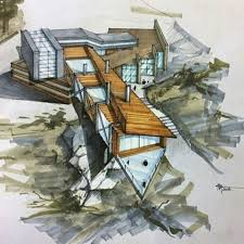 Wonderful Architecture Design Sketches Ideas Architecturestudent Arquitectura And Inspiration