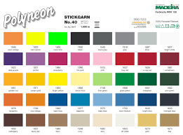 Madeira Embroidery Thread Colour Chart 9847 Polyester 40 1000m Skovtex Webshop Powered By Madeira