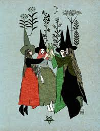 Por Tin Can Forest Paintingart Witch Art Art Witch