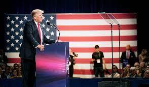 Trump in CPAC speech faults Facebook ...