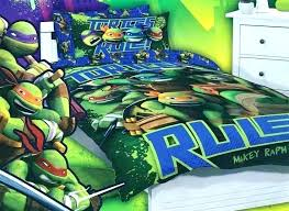 Ninja Turtle Comforter Set Twin Teenage Mutant Turtles Bedding And ...