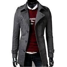 New Designer Coats Us 25 37 41 Off Zogaa Mens Trench Coat 2018 New Fashion Designer Men Long Coat Men Winter Long Coat Slim Trench Jacket Parka Mens Overcoat In Wool