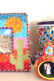 diy mosaic frame craft