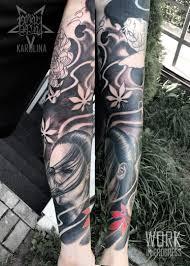 тату рукав о чем нужно знать если вы решили набить рукав тату