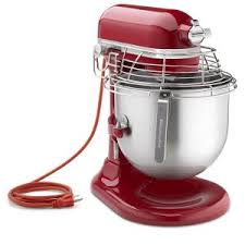 kitchen appliances red mixer