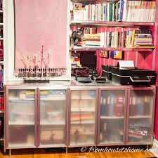 glam wall unit from ikea kitchen cabinets