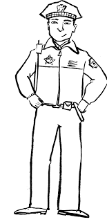 Small Picture Coloring Pages Boys Policeman Coloring Page Police Coloring