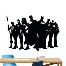 superhero decals superhero wall decal marvel dc comics vinyl sticker superman batman vinyl decal wall sticker superhero decals girl superhero wall