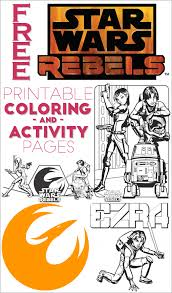 Small Picture Free Star Wars Rebels Coloring Pages and Activity Sheets
