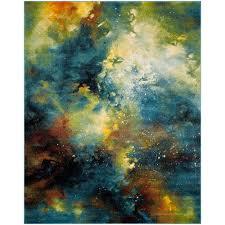 safavieh galaxy blue multi 8 ft x 10 ft area rug