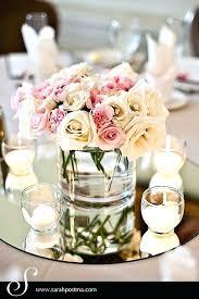 mirror table centerpieces for weddings round wedding
