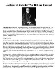 dbq industrial revolution business tycoons captains of industry  dbq industrial revolution business tycoons captains of industry or robber barons by linni0011 teaching resources tes