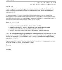 Cover Letter Samples 2014 Administrative Assistant Cover Letter