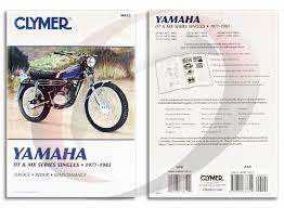1978 yamaha dt 175 wiring diagram 1978 image 1978 1981 yamaha dt175 repair manual clymer m412 service shop on 1978 yamaha dt 175 wiring
