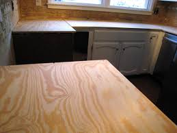 this fresh fossil kitchen countertop project part 4 second base inside plywood ideas plans 10