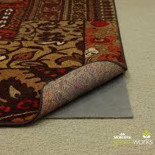 5 8 grey rubber non slip rug pad for marvelous area rug design