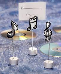 Table Decor for Musical Wedding Theme