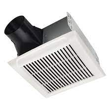 An110 Roomside Series 110 Cfm Single Speed Ceiling Room Side Installation Bathroom Exhaust Fan In White