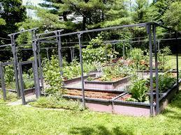 diy vegetable garden fence beautiful lawn ve able design plans amp ideas of