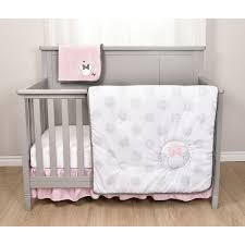 roll over image to zoom larger image minnie mouse 5 piece crib bedding set