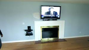 cable box shelf shelves wall mounted mount ideas behind tv