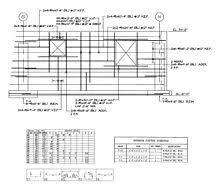 Rebar Design And Detailing Data Chart Shop Drawing Wikipedia