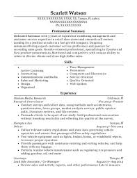 Nielsen Media Research Research Interviewer Resume Sample Tampa
